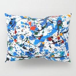 Frenzy in Blue Pillow Sham