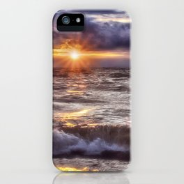 The Wonder of a Sunset iPhone Case