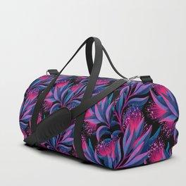Pohutukawa - Pink / Blue Duffle Bag