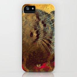 Cute Baby Rat iPhone Case