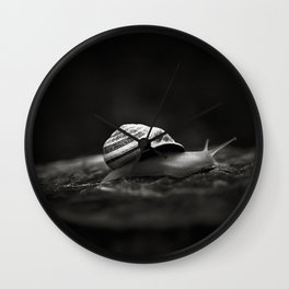 Going East Wall Clock