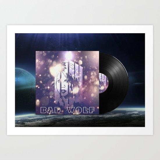 Rose Vinyl Lp Doctor Who Inspiration Art Print By Freak