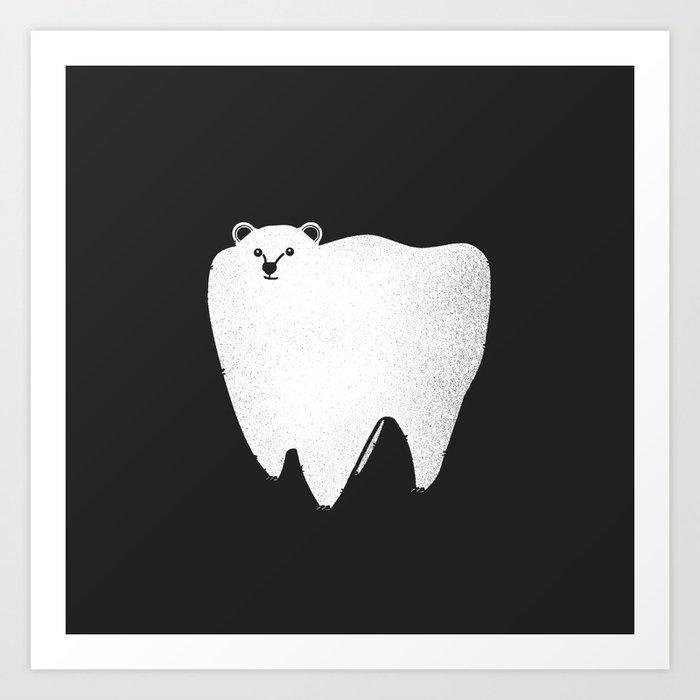 Molar Bear Art Print