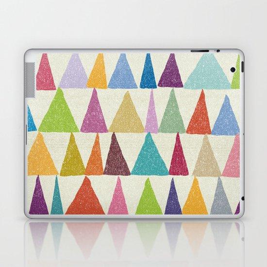 Analogous Shapes In Bloom. Laptop & iPad Skin