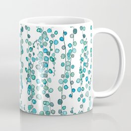 string of pearl watercolor Coffee Mug