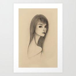"""PORTRAIT"" Art Print"