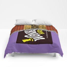 Wonka's Golden Ticket Chocolate Comforters