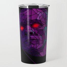 Neonnight 80s cyborg Travel Mug