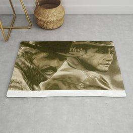 Butch Cassidy and the Sundance Kid Rug