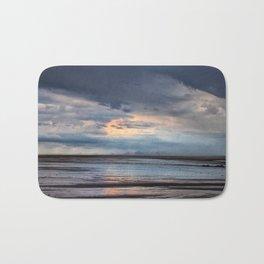 Coastal summer storm Bath Mat