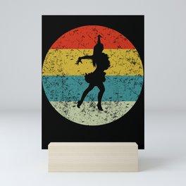 salsa dancing Mini Art Print