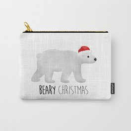 Beary Christmas | Polar Bear Carry-All Pouch