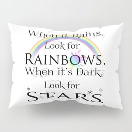 When it Rains... Pillow Sham