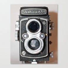 Yashica Vintage Camera Canvas Print