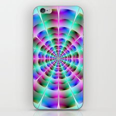 Time Tunnel in Blue and Pink iPhone & iPod Skin