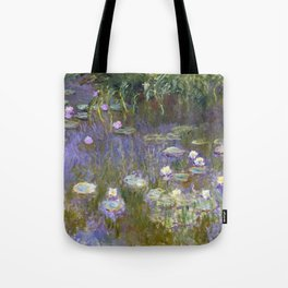 Water Lilies - Monet Tote Bag