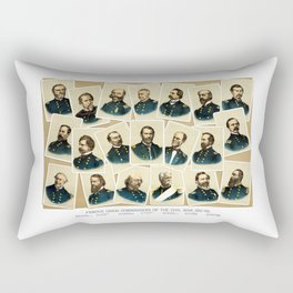 Union Commanders of The Civil War Rectangular Pillow