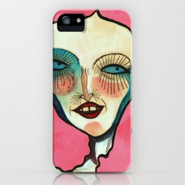 """""""A Very Colorful Woman"""" iPhone Case"""