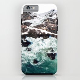 Sea and Mountains iPhone Case
