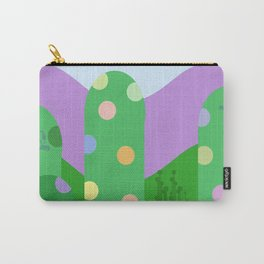 Cute landscape green  Carry-All Pouch