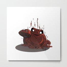 Rana de lava Metal Print