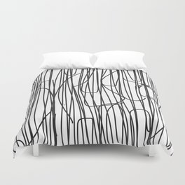 Abstract Line No. 68 Duvet Cover