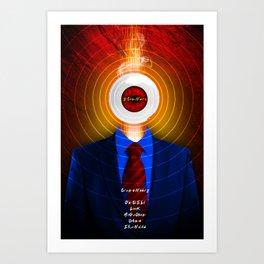 DAVID CRONENBERG SERIES :: SCANNERS Art Print