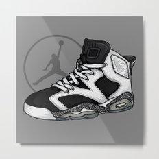 Jordan 6 (Oreo) Metal Print