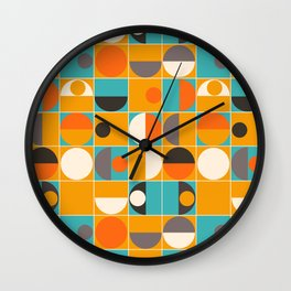 Panton Pop Wall Clock