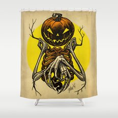 Autumn People 7 Shower Curtain