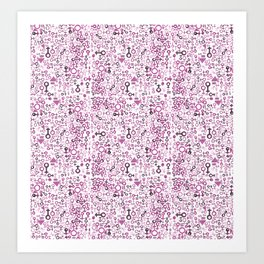 8 march all inclusive magenta Art Print