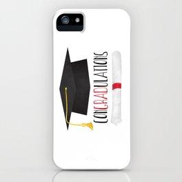 ConGRADulations iPhone Case