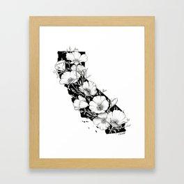California In Bloom Framed Art Print