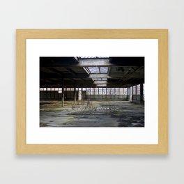 Brick Works Framed Art Print