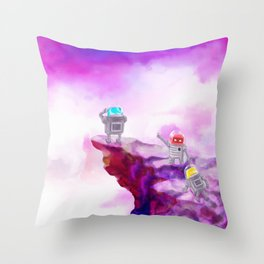 Mapping New Territories Throw Pillow
