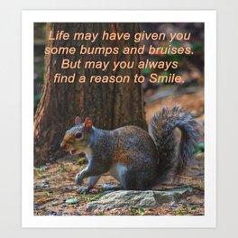 Reason to Smile Art Print