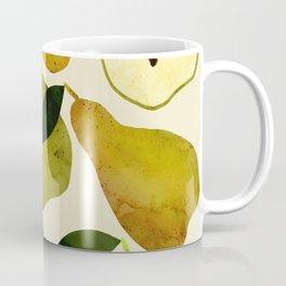 mediterranean pears watercolor Coffee Mug