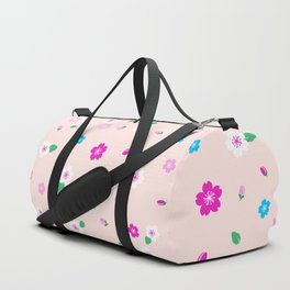 Cherry Blossom Garden - Blush Pink Duffle Bag