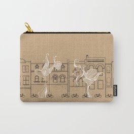 Queen Street Canvas Carry-All Pouch