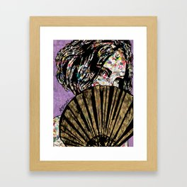 Playing Coy Framed Art Print