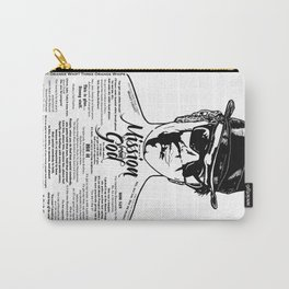 Elwood Blues Brothers tattooed 'Dry White Toast' Carry-All Pouch