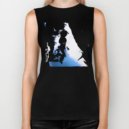 ON THE RUN Biker Tank
