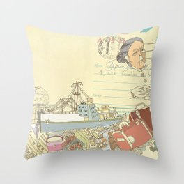 Great-grandmother's secret Throw Pillow