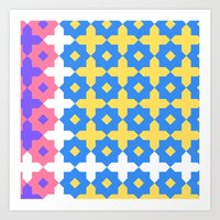 Pop Geometric II  Art Print