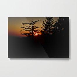 Sierra Nevada Lookout Metal Print
