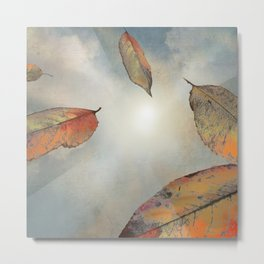 As You Fall Metal Print