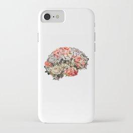 Flower Brain iPhone Case