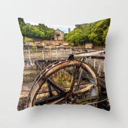 Minera Lead Mines Throw Pillow