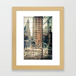 Columbus Circle NYC Framed Art Print