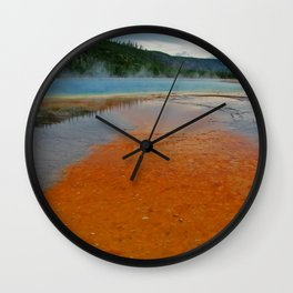 Live Mat Wall Clock